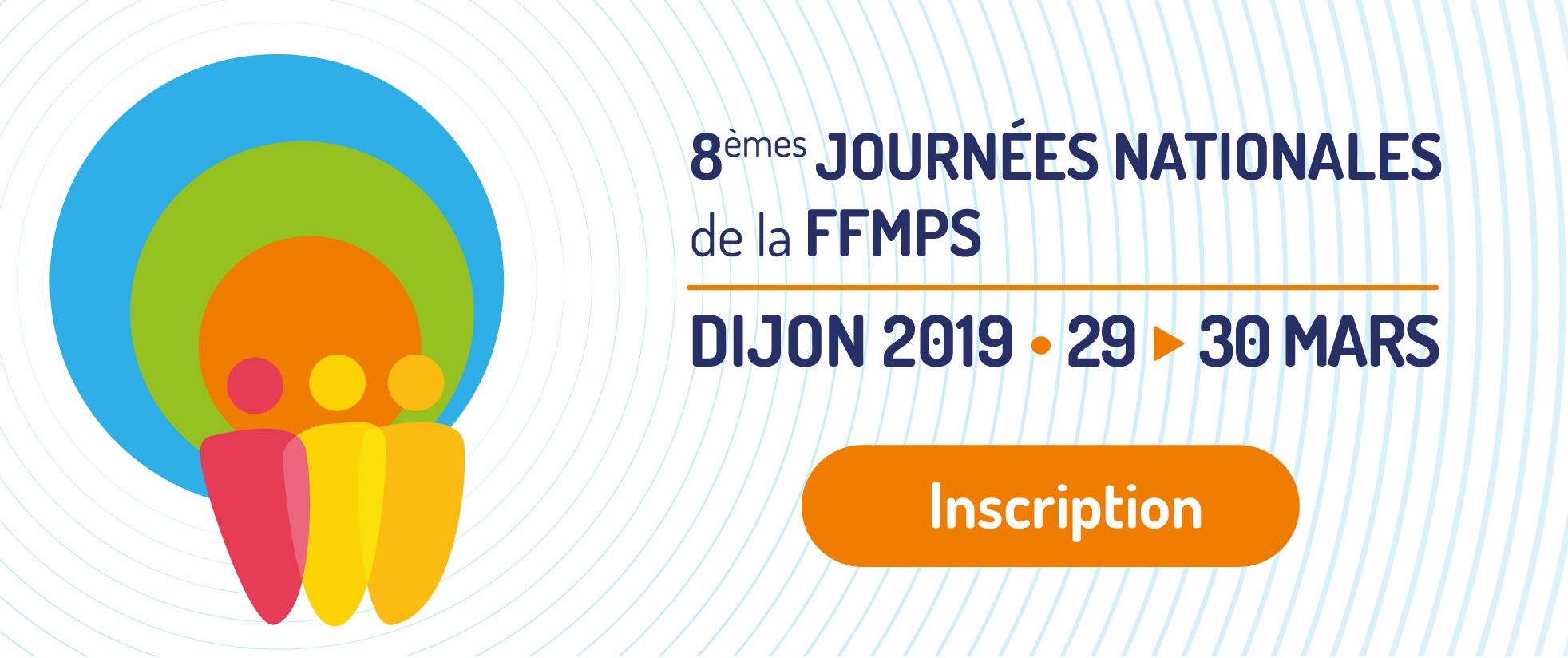 Bandeau des 8èmes Journées Nationales de la FFMPS